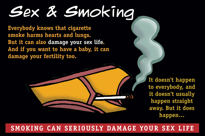 Sex & Smoking leaflet