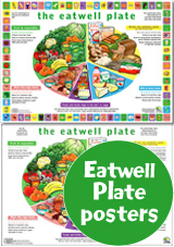 Eatwell Plate Posters