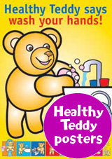 Healthy Teddy Posters